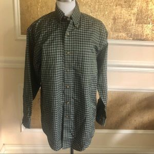 Brook Brothers EST 1818 plaid buttons down shirt S